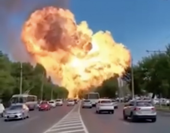 Screenshot of Volgograd Explosion